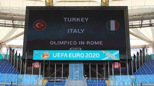 موعد مباراة ايطاليا وتركيا في افتتاح يورو 2020 والقنوات الناقلة - ميركاتو  داي