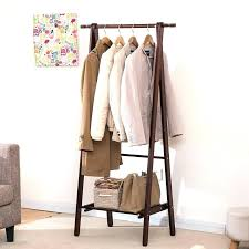 Coat Rack Hanging Wooden Clothes Stand Bedroom Hat Coat Rack Bedroom Clothes Stand 93