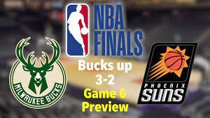 Milwaukee Bucks-Phoenix Suns Game 6 ...