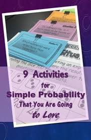 Probability Project Design Your Own Game Ideas 9 Activities For Simple Probability You Will Love Math