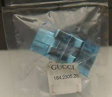 gucci 9700m. nib gucci replacement clasp - 2305 l stainless 9700m