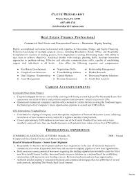 Template Real Estate Resume Sample Luxury Agent Example Template