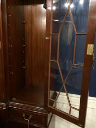 High End China Cabinets 5 Door China Cabinet High End Mahogany China Cabinet Large