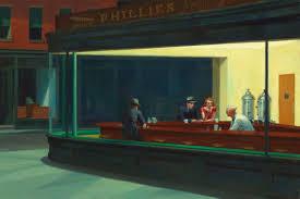 Edward Hopper Light And Dark What Makes The Edward Hopper Nighthawks Painting So