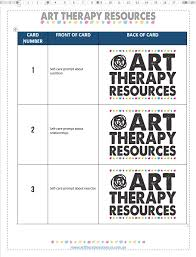 How To Create Art Index Cards For Your Therapy Business