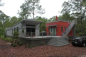 solar powered tiny house. I-House. The Butterfly Roof With Solar Panels Powered Tiny House