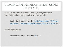 Wiki Citations Notes References Ppt Download