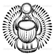 дизайн татуировки жук скарабей поиск в Google Tattoo векторная
