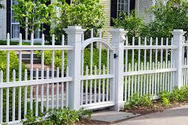 beautiful wood picket fence panels