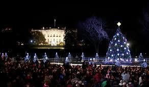 President Obama Christmas Tree Lighting The Obama Family Starts New Tradition At National Tree