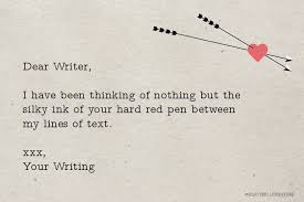 Love Letters From Your Writing – Electric Literature