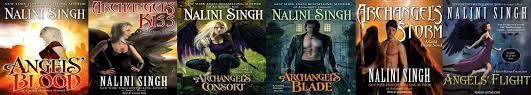 Guild Hunter Series (Books 1 - 5 + .5, 1.5, 4.5, 4.75) - Nalini Singh
