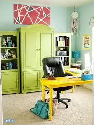 colorful home office. colorful home office makeover by kristen duke betterafternet o