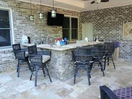Custom Outdoor Kitchen Designs New Outdoor Kitchen Bar And Grill Traditional Patio Chairs Finit