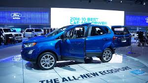 2018 ford autos. Exellent Autos 2018 Ford EcoSport To Ford Autos