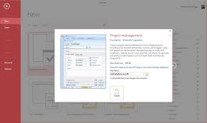 Project Management In Access Ms Access Create Database Tutorialspoint