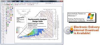 Ashrae Psychrometric Chart Si Psychrometric Calculator Chart Analysis Software Program For