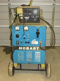 used hobart welders lincoln equipment liquidation hobart rc 300 welder 300 amp w 2410 feed unit