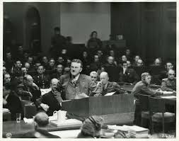 timeline nuremberg trials impact on united states today  upload org commons 1 10 prosecutor ralph albrecht addresses nuremberg trials 1945 jpeg