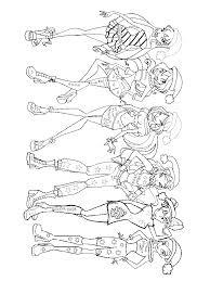 Winx Disegni Da Colorare Bambini Disegni Disegnare