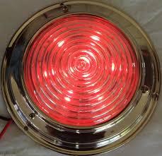 12 Volt Led Interior Lights Dual Colour Led Dome Lght 12 Volt Marne Stanless Steel