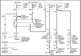 concours window defogger circuit and wiring diagram cadillac concours window defogger circuit and wiring diagram