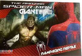 Spiderman or spider man coloring book. Amazon Com The Amazing Spider Man Rampaging Reptile Oversized Giant Coloring Activity Book Games Mazes Puzzles 16 X 11 24 Pages Toys Games