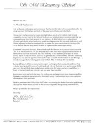Letters Of Recommendations For Teachers How To Do A Letter Of Recommendation Example Format For Teacher