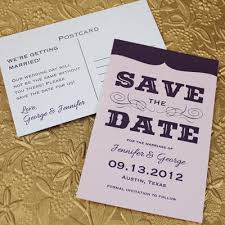 Save The Date Template With Retro Type