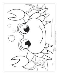 Search through 51998 colorings, dot to dots, tutorials and silhouettes. Ocean Animals Coloring Pages For Kids Itsybitsyfun Com