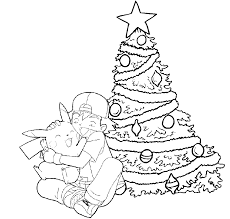 Small Picture Printable Pokemon Christmas Coloring Pages At Chrismas Coloring