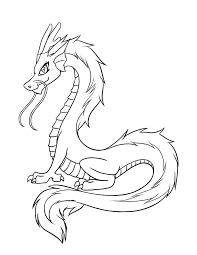 Easy Dragon Coloring Pages At Getdrawingscom Free For Personal