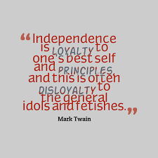 quotes mark 17 best independence quotes images