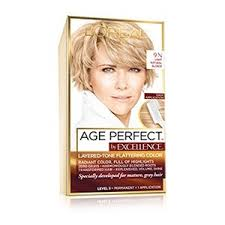 Age Perfect Hair Color Chart Loreal Blonde Shades Chart Hair Color Ideas And Styles For