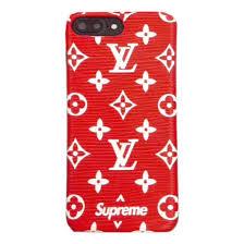 louis vuitton x supreme phone case. red supreme x louis vuitton case phone e