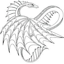 Dragon Coloring Pages Pdf At Getdrawingscom Free For Personal Use