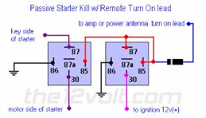 pive starter killpive starter kill relay diagram with any 12
