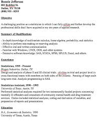 Statistical Programmer Sample Resume Example Statistician Resume httpresumesdesignexample 29