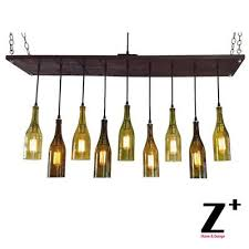 9 wine bottle chandelier industrial lights vintage 9 edison bulbs chandelier lamp suspension coffee bar wood glass wine barrel chandelier birdcage