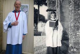 Bradpole choirister Ivan Andrews to be honoured for 70 years of service    Bridport and Lyme Regis News