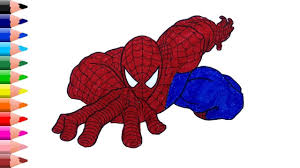 Spiderman brotherhood coloring pages | spiderman brotherhood coloring pages with colored markers happy viewing friends ! Spider Man Drawing Easy Spiderman Coloring Pages Coloring Videos For Spiderman Coloring Easy Drawings Coloring Pages