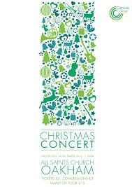 Christmas Concert Poster Christmas Concert Poster Arts For Rutland
