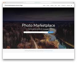 Professional Photographer Website Design 38 Photography Website Templates 2019 Colorlib