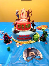 Superb Avengers Birthday Cake Sainsburys Electrohubclub