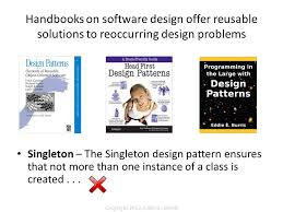 Programming Design Patterns Delectable Programming In The Large With Design Patterns Ppt Download