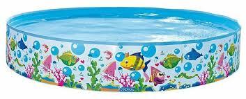 Детский <b>бассейн Jilong Sea</b> World Rigid JL017127NPF — купить ...