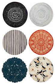 the round rug round up java aficionado intended for round kitchen rugs regarding house