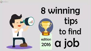 Tips To Find A Job 8 Winning Tips To Find A Job Creative Thinking