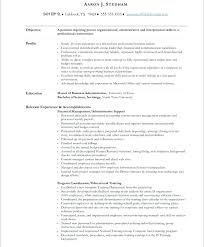 Sample Resume For Administrative Assistants Sample Resume Objectives For Administrative Assistant Position