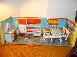 mid century dollhouse furniture. vintage midcentury dollhouse furniture modella kitchen roombox suite doll house dollhouses miniatures pinterest dollhouse houses and mid century r